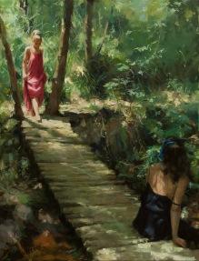 65x50 cm. Oil on canvas