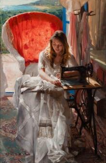 92x60 cm. Oil on canvas
