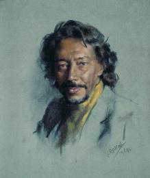 55x46 cm. Pastel on paper (1993)