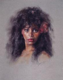 55x46 cm. Pastel on paper (1991)