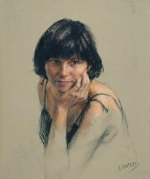 61x50 cm. Pastel on paper (1993)