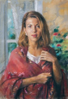 81x65 cm. Pastel on paper (1993)
