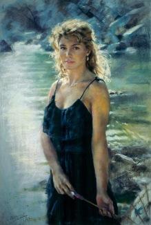 93x60 cm. Pastel on paper (1997)