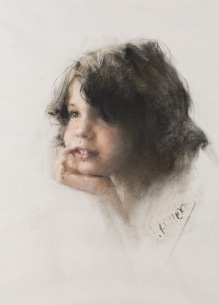 46x31 cm. Pastel on paper (1997)