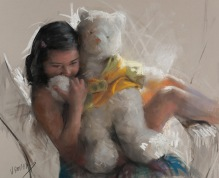 61x50 cm. Pastel on paper (2011)