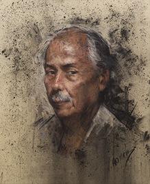 61x50 cm. Pastel on paper (2015)