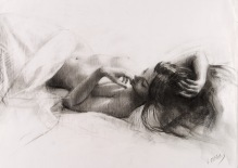65x46 cm. charcoal on paper