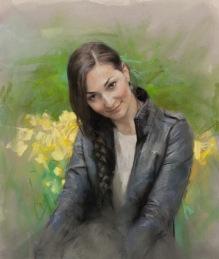 55x46 cm. Pastel on paper (2014)